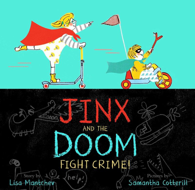 Cover Reveal: Jinx & The Doom Fight Crime!