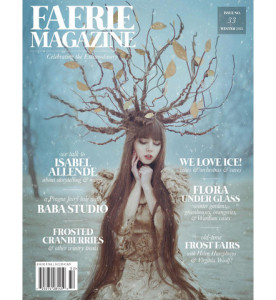 Faerie Magazine Winter 15 Cover